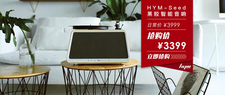 HYM黑胶智能音响